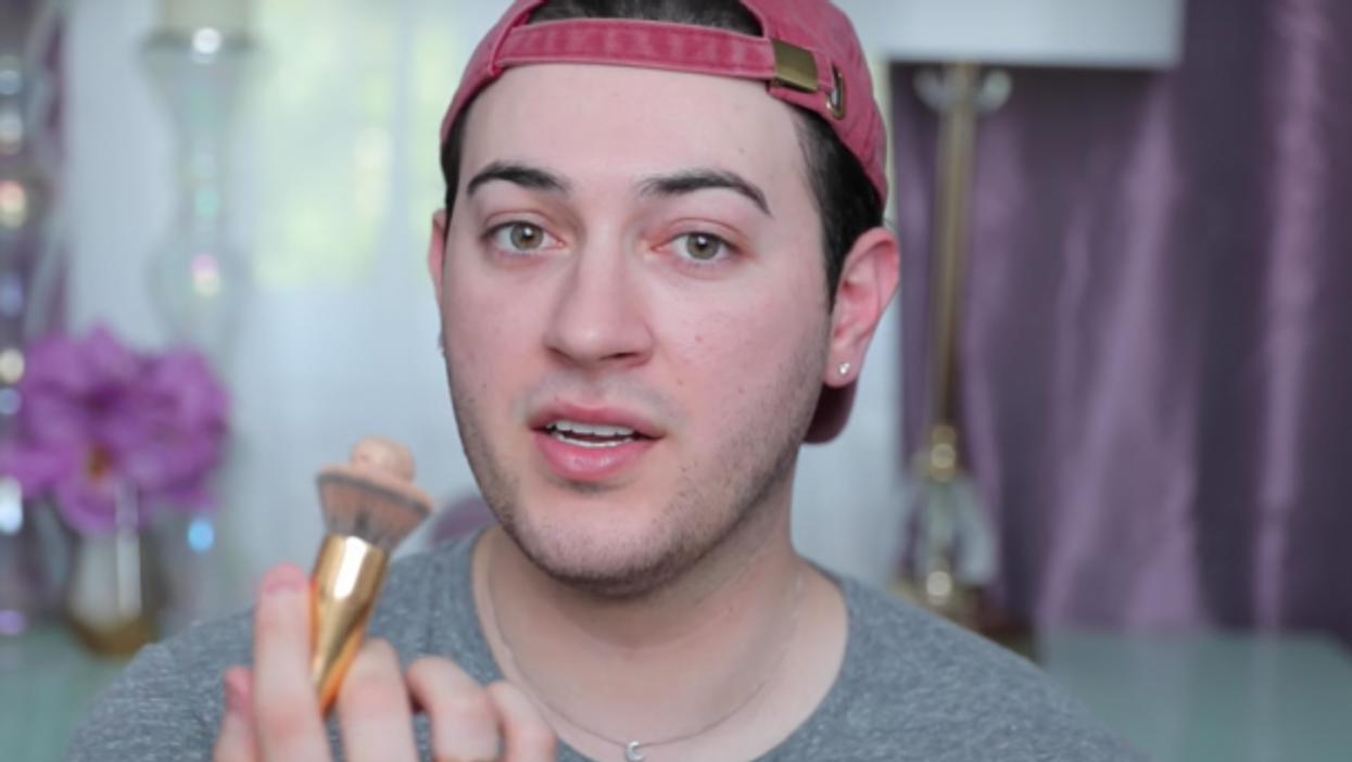 YouTube makeup artist Manny Gutierrez