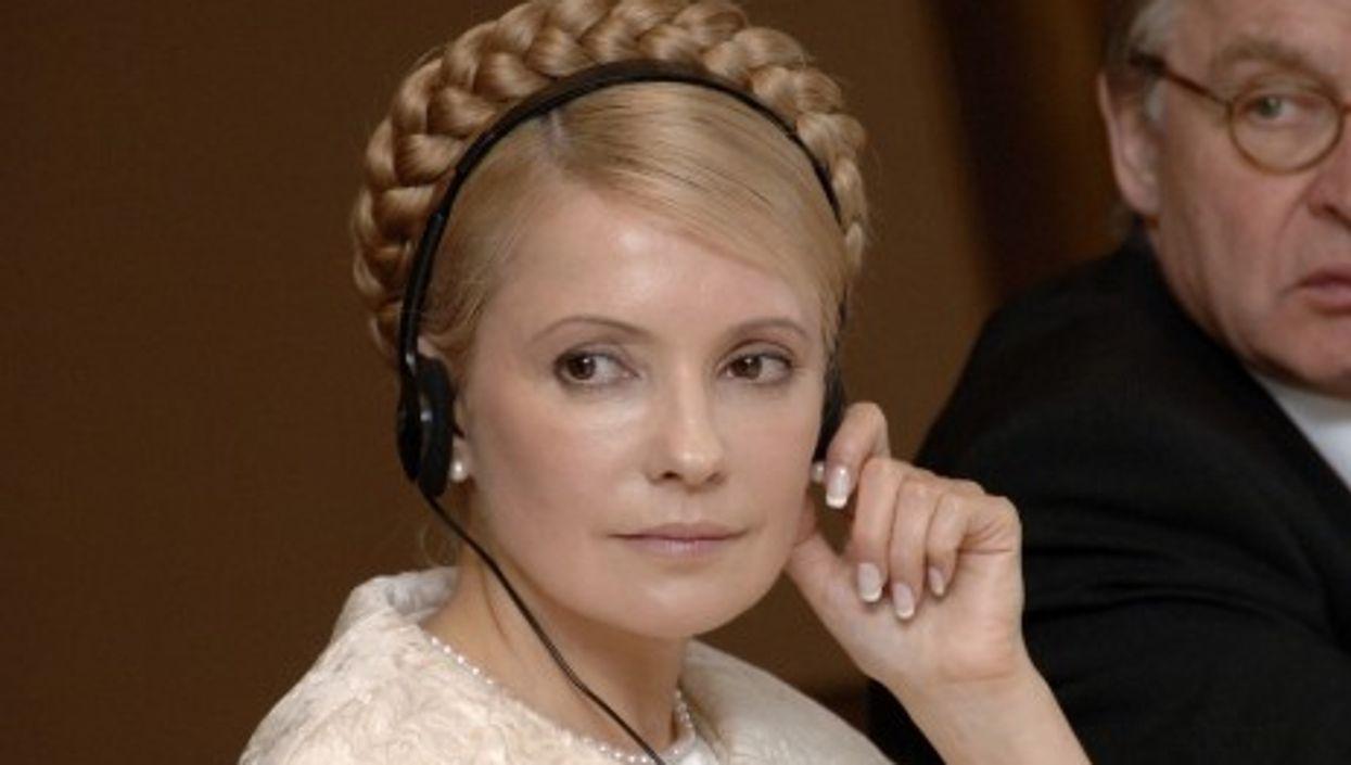 Yulia Timoshenko in 2007 (European People's Party)