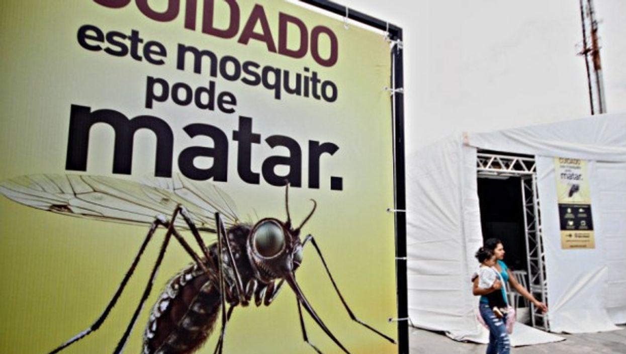 Zika testing centers in Sao Paulo last year